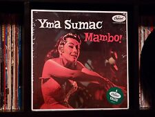 Yma Sumac ♫ Mambo ♫ Rare NEAR MINT Capitol Records US Mono MASTER Press TOP COPY