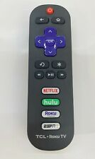 3pc ROKU RC280 Remote Control for TCL Roku Smart TV NETFLIX, HULU, ROKU, ESPN