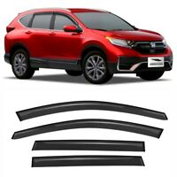 GOODYEAR Side Window Deflectors for Kia Sportage 2017-2020 Window Visors GY003137 Tape-on Rain Guards 4 Pieces