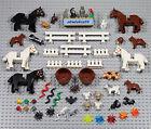 LEGO - 55 pcs Animals Lot - Horse Dog Cat Chicken Pig Rabbit Monkey Skunk Farm