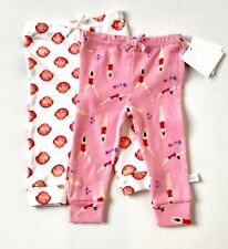 Rosie Pope 2 Pairs Swimmer & Seashell Leggings  Size 0-3 Months. NWT Price $12