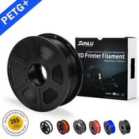 3D PETG Printer Filament 1.75mm 1KG/2.2LB Spool Black PETG 3D Printer Consumable