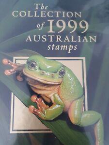 1999  Deluxe Collection of Australian Stamps Album & slipcase