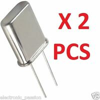 2 * 11.981MHz Crystal xtal Oscillator HC49U 11.98 MHz Electronic Components 6mhz