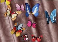 NEW 12pcs MAG 3D Butterfly Decal Wall Stickers Home DIY Art Decor Children Room