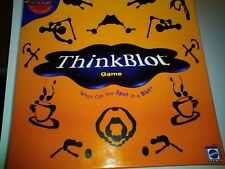 Mattel Games Think Blot Board Game  2-6 players  adult Family Friends Party