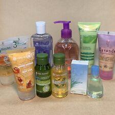 Yves Rocher Lot Masks Shampoo Soap Gel Makeup Remover Cream Naturelle EDT & More