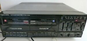Realistic Clarinette 124 AM/FM Stereo Dual Cassette Music System