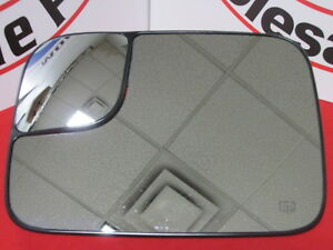 DODGE RAM Driver Side Power Towing Mirror Replacement Glass NEW OEM MOPAR