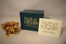 Harmony Kingdom SLEEPY HOLLOW - LEOPARD  Trinket Box  1996  TJLE  NIB  (b718)