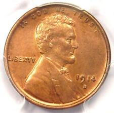 1914-D Lincoln Wheat Cent 1C - PCGS Uncirculated Details - Rare MS UNC Coin!