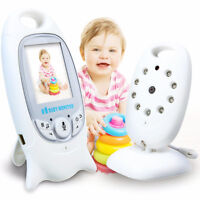 2.4G Wireless Baby Video Monitor Two-way Talk LCD Display Night Vision 4744