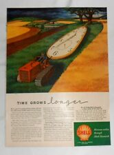 1947 SHELL Oil Advertisement - Page from June 9, 1947 Life Magazine