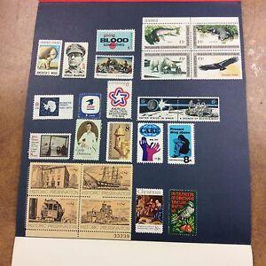 1971 USPS  commemorative stamp Mint Set Special Type 1 Mini Album