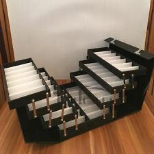 Eyeglasses Display Case 56 Suitcase Eyewear Suitcase Frame Storage Box Foldable