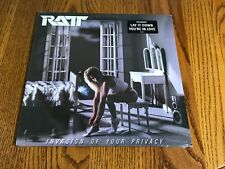 RATT INVASION OF YOUR PRIVACY  ORIGINAL FIRST PRESS LP WITH HYPE STICKER SEALED