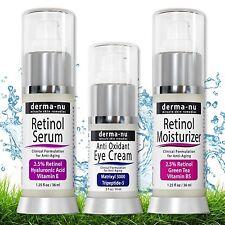 Retinol Skin Rejuvenation System - Anti Aging Products - Derma-nu 3 Piece Set