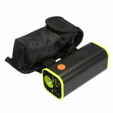New 4x 18650 Battery Pack Storage Case Box Holder USB For Bike Bicycle Light Bag
