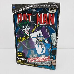 DC Comics Batman Joker Luminart Lampe Leuchte Deko Bild Artwork Comic Paladone