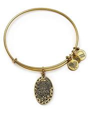 Alex and Ani Because I Love You Daughter II Gold Tone Expandable Bangle Bracelet