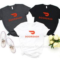 DoorDash Delivery T Shirt Tee Door Dash
