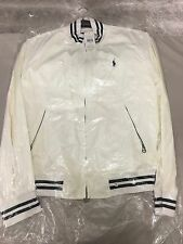 Mens Original Polo Ralph Lauren White Jacket Size L BNWT