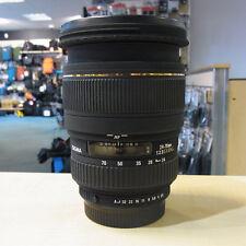 Used Sigma EX DG Macro 24-70mm f2.8 lens in Pentax fit - 1 YEAR GTEE