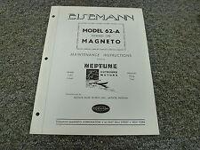 Eisemann 62A Flywheel Magneto for 11A3 11AA3 Neptune Motor Service Repair Manual