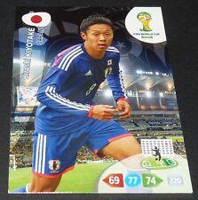 HIROSHI KIYOTAKE JAPON NIPPON FOOTBALL CARD PANINI FIFA WORLD CUP BRASIL 2014