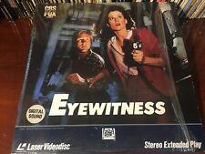 Laserdisc EYEWITNESS 1981 Sigourney Weaver William Hurt James Wood LD Lot#2 Mint