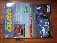 $$v Revue auto Passion N°92 Matra 630  Fiat 124  Jean Daninos  Tour de France
