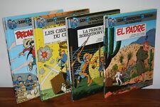 LES TUNIQUES BLEUES/ la collection / 4 livres en lot / Cauvin / Dupuis