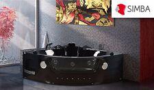 VASCA BAGNO IDROMASSAGGIO CROMOTERAPIA 2 PERSONE NUOVA  Mod. MAJESTIC - BATH TUB