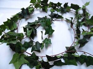 203CMS! WIRED ARTIFICIAL/PLANT/IVY/GARLAND/GREEN /WEDDING/BANNISTER/FIREPLACE