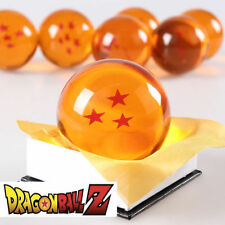 New Dragonball Z Dragon Ball Large 3 Stars Crystal Resin 3'' 7.6cm 1pc only USA