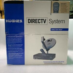Hughes Directv Directors Pack / With Satellite - New In Box