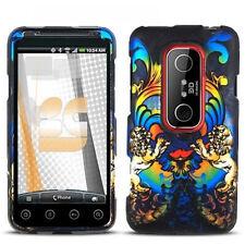 Rainbow Lion Hard Case Phone Cover Sprint HTC EVO 3D