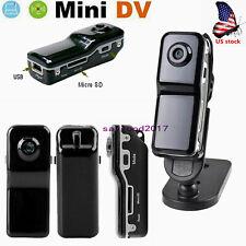 US Mini Webcam Sports Camera DV DVR 720P HD Recorder Camcorder monitor w/Holder