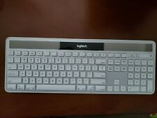 Logitech Wireless Solar Keyboard K750 With Unifying Receiver Very Good