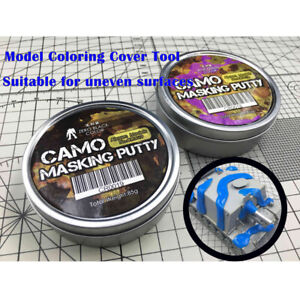 1pc CAMO Camouflage Masking Putty UNIVERSAL FOR Gundam Tank Car Spraying Tool