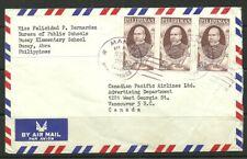 Philippines to Canada cover 1966 Scott 1945