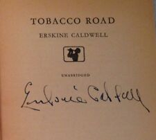 Erskine Caldwell - Tobacco Road - 1st Pan Edition 1958 - SIGNED BY AUTHOR