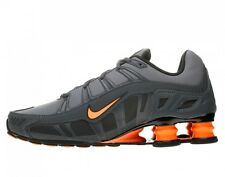NIKE SHOX  TURBO 3.2 SL Mens Shoes SZ 6 455541-080 Dark Grey/Total Orange-Ant