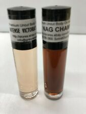 Nag champa Intense 10ml or 1/3 oz- Alcohol free Perfume Body oil lot of 2 unisex