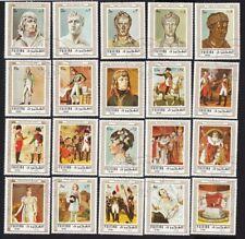 NAPOLEON BONAPARTE-1769-1821= History = Imperator of France Set of 20 = Fujairah