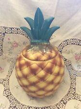 ABINGDON USA Pineapple Pottery Cookie Jar - Abingdon Pottery