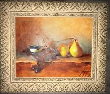 """Oil Painting On Canvas Framed Hand-Painted Signed. Landscape. 8"""" X 10""""."""