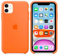 Vitamin C Apple Echt Original Silikon Schutz Hülle Case iPhone 11 6,1″