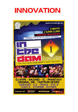 Innovation In The Dam 2012 Pack 2  - 6xCD RAVE Pack Drum & Bass *SALE PRICE*
