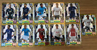 MATCH ATTAX 2017/18 FULL SET OF ALL 11 100 HUNDRED CLUBS NO 437-447